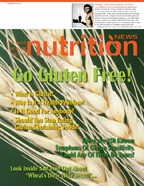 Going Gluten Free Nutrition News Cover