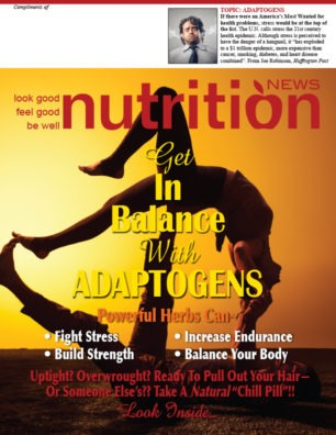 Balance Your Life With Adaptogens Issue Cover Image