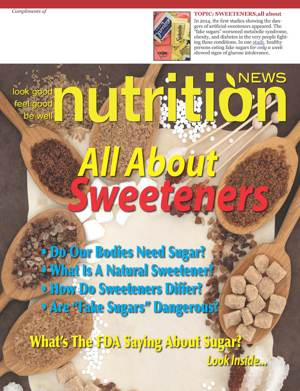 All About Sweeteners, Cover